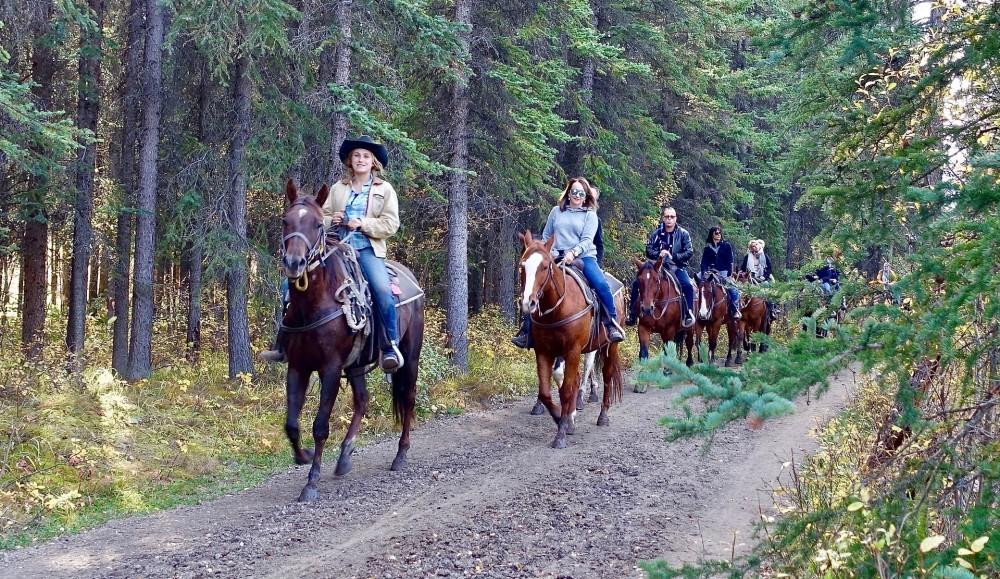 Las Cabalgatas y la Equitación.